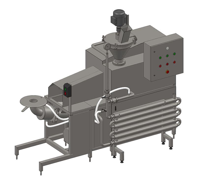 Агрегат за формоване на кашкавал -ръчен