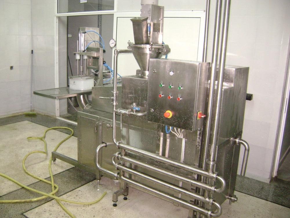 Агрегат за формоване на кашкавал автоматичен